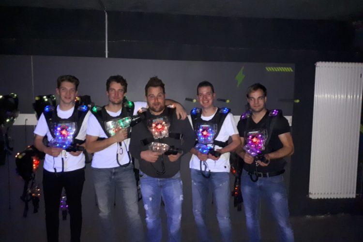 Lasertag: Teamausflug 2018